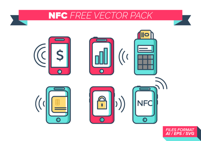 NFC gratuito Pacote Vector