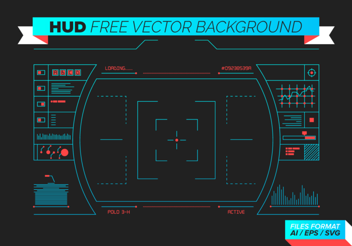 HUD Free Vector Background