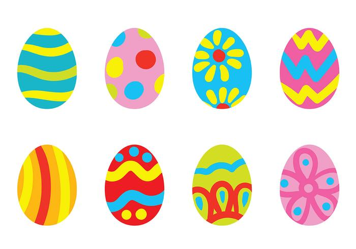 Easter Egg Icon Vector