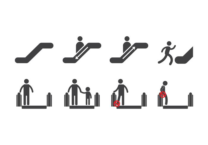 Free Escalator Icons