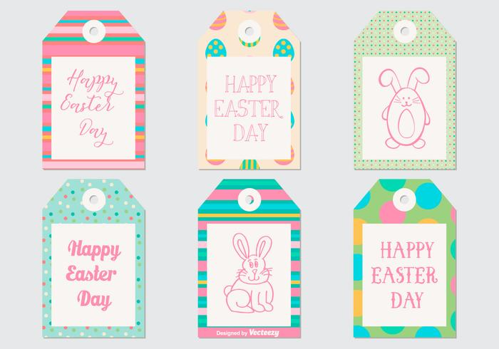 Cute Easter Gift Tag Collection
