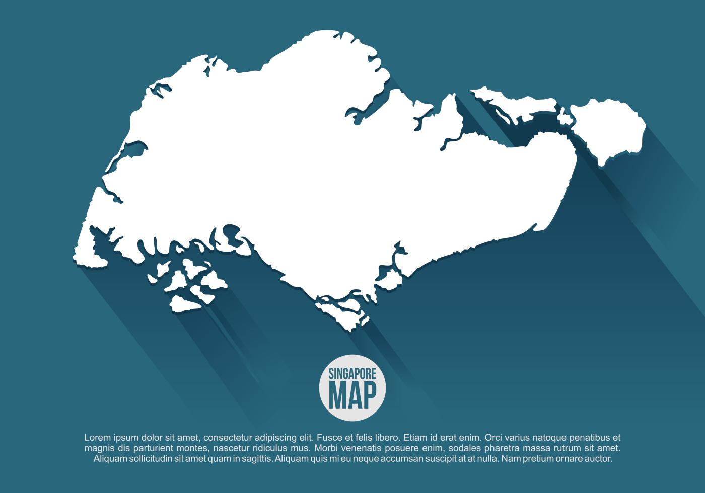 Singapore Map Free Vector Art - (8890 Free Downloads)