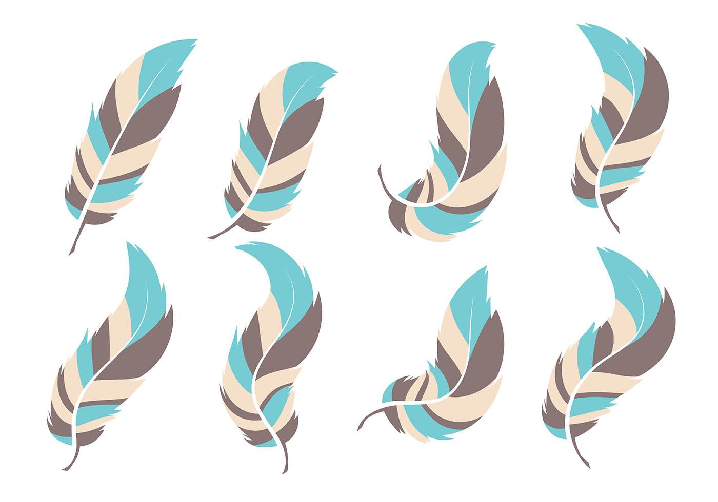 Plumas Free Vector Art