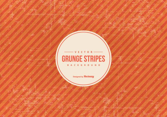 Orange Grunge Stripes Hintergrund
