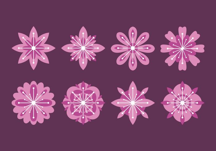 Blomblomningsvektor