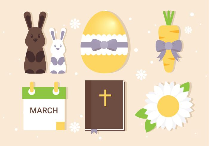 Free Easter Elements Collection