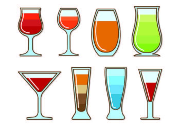 Vectors Glass Of Spritz