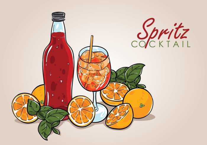 Spritz Vector Illustration