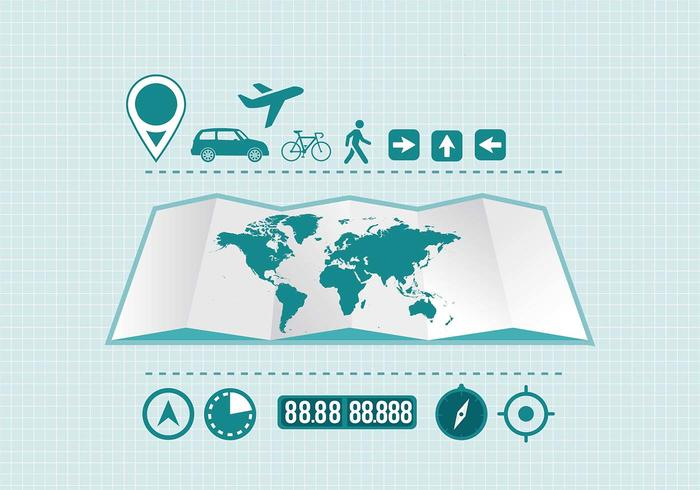 Travel Infographic Element Vector