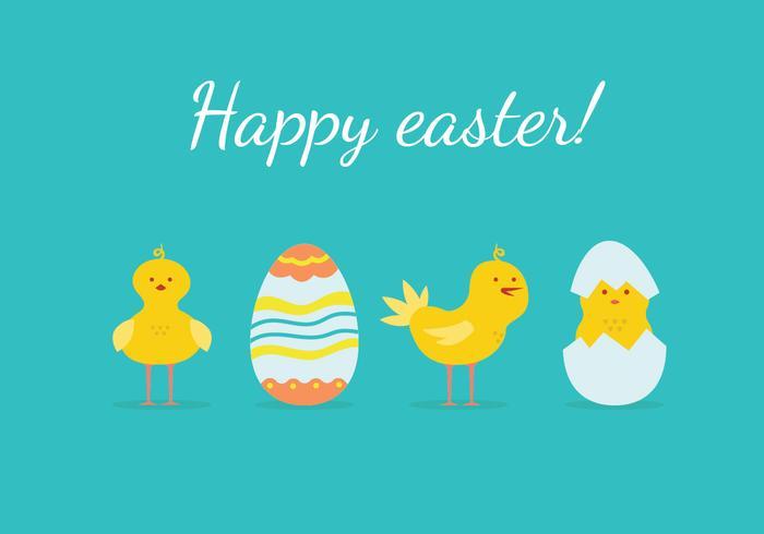Easter Chick Illustration