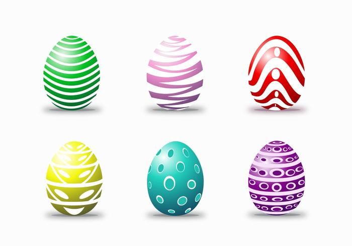 Easter Egg Happy Vectors