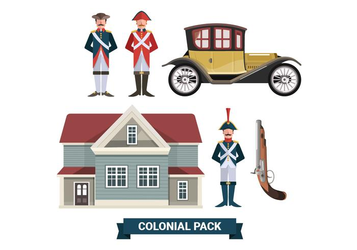Colonial Pack Vector Collections