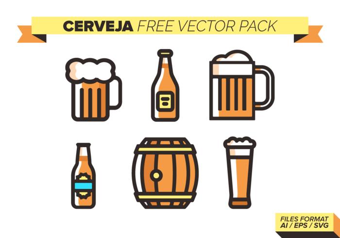 Cerveja Free Vector-Pack vektor