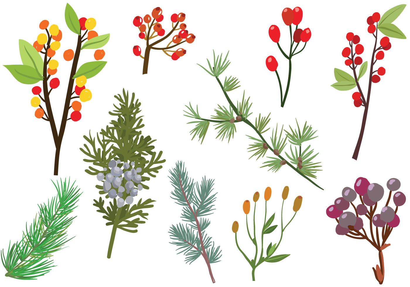 Free Forest Branches Vectors Download Free Vectors