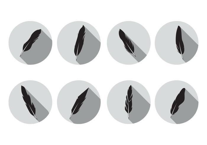 Pluma Icons Vector