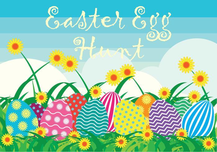 Easter Egg Hunt Background
