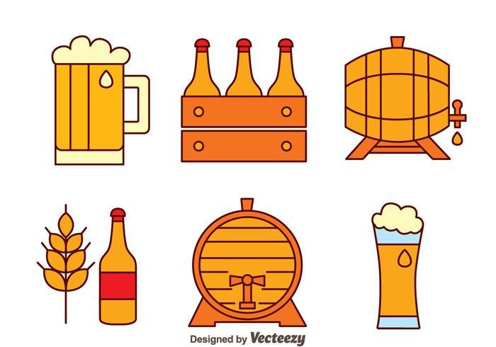 Beer Element Vectors