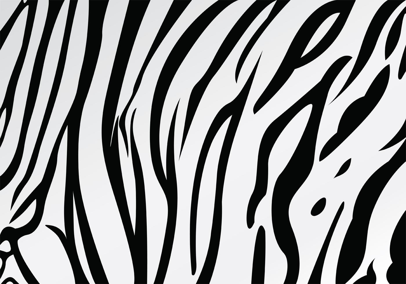 White tiger stripe pattern vector download free vector - Tiger stripes black and white ...