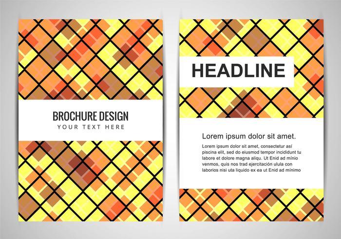 Brochure aziendale colorato vettoriali gratis