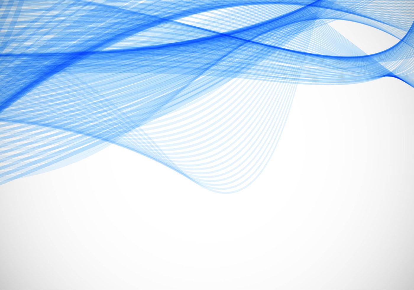 Vector De Fondo Libre Ondulado Azul