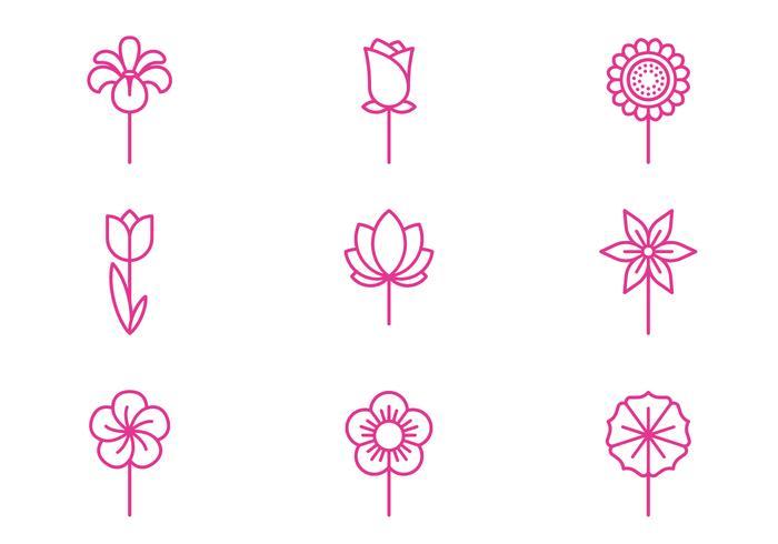flores Ícone