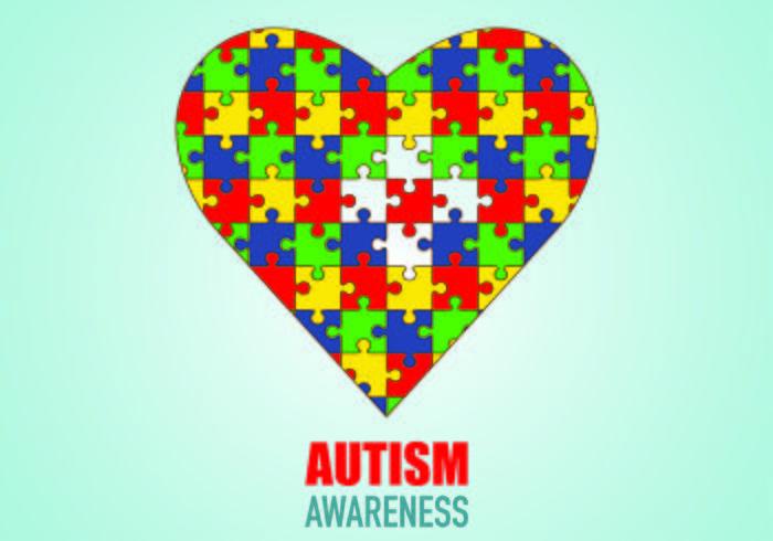 Poster av autism medvetenhet