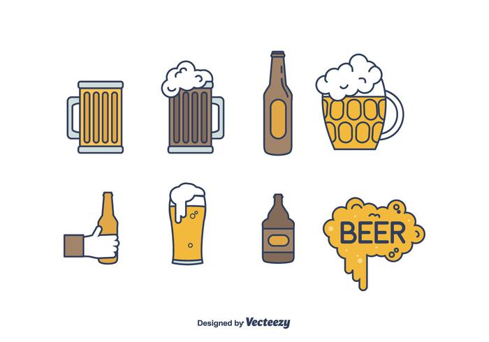 Beer Vector Set