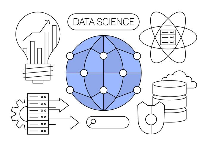 Free Data Science Vector Illustrations