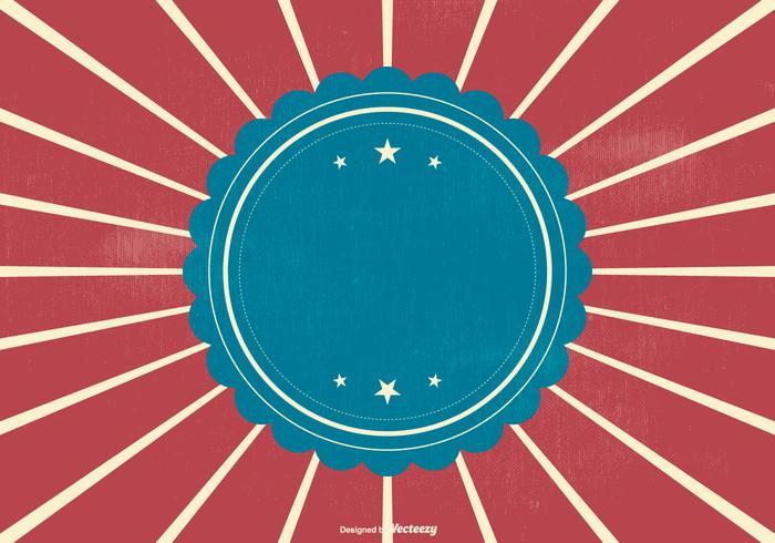 Retro Patriotic Style Background