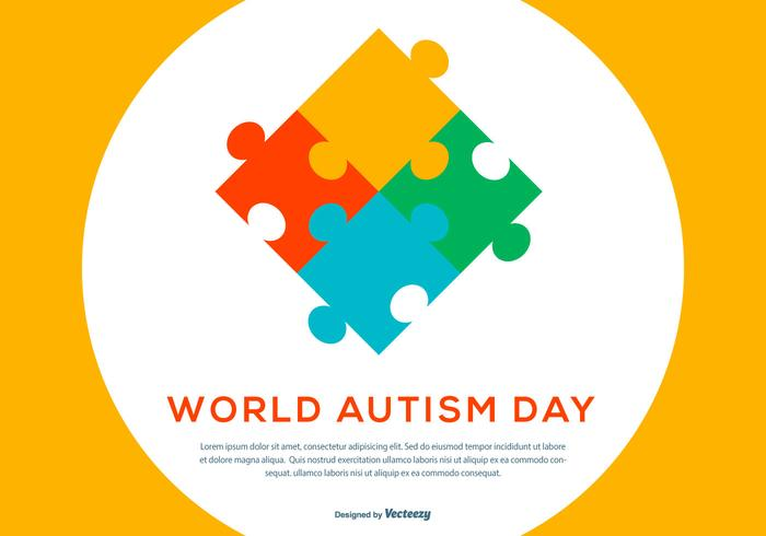 Autism Day Illustration