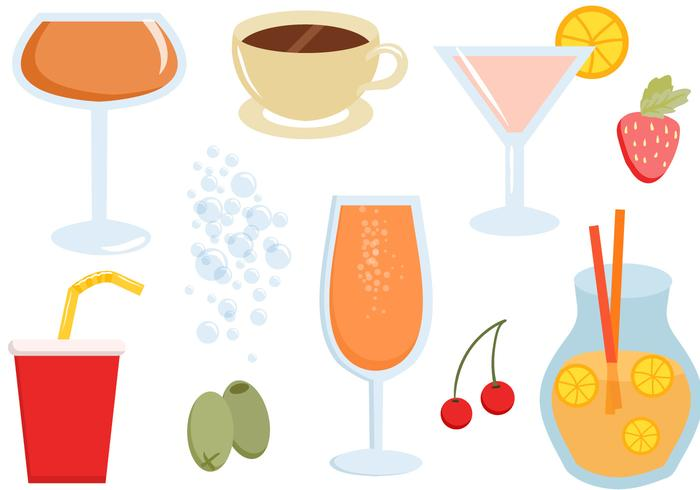 Free Drinks Vectors