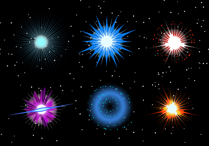Supernova vector Exsplosion