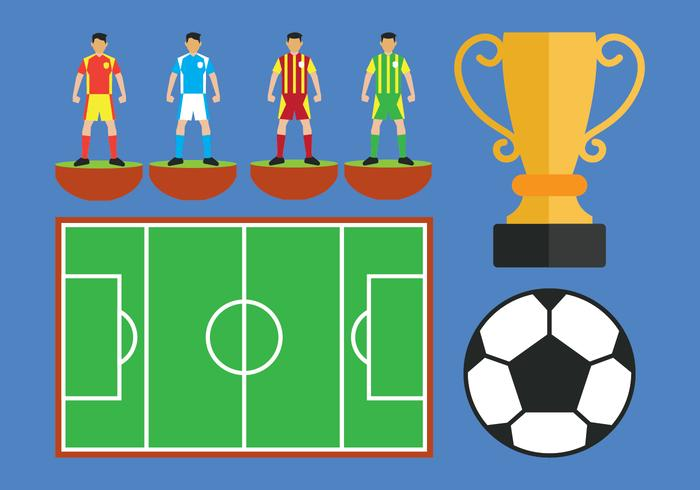 Subbuteo Vector Icons Set