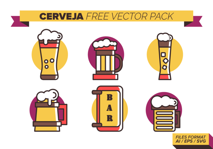Cerveja Free Vector Pack