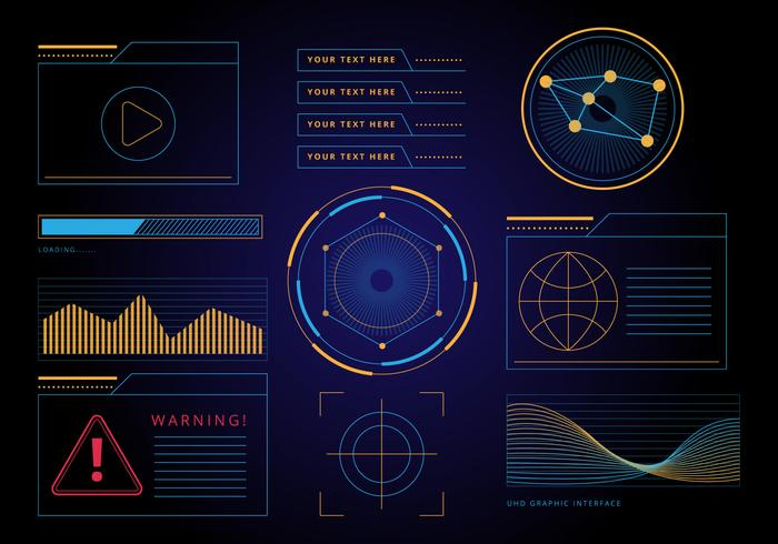 Free HUD Graphic Interface Vector