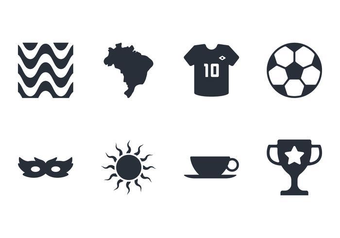 Brasil Icon Set