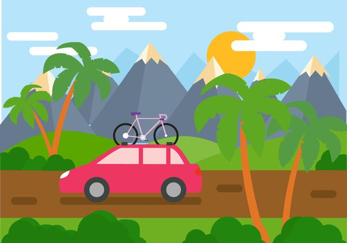 Tropical Trip Vector
