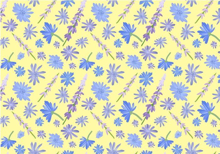 Freie Wildblumen-Muster-Vektoren
