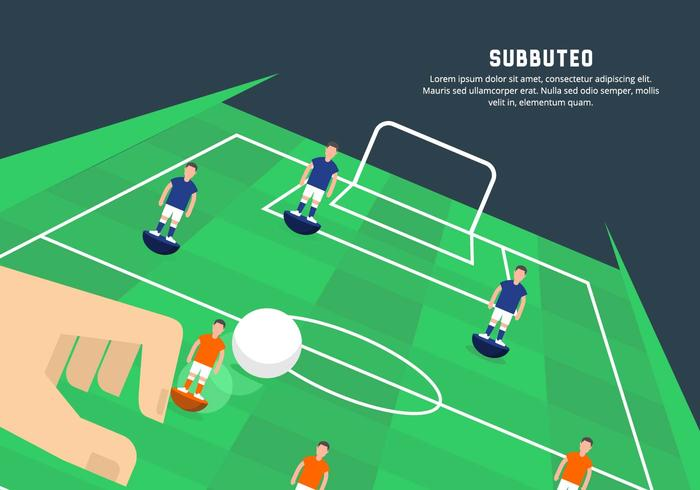 Subbuteo Illustration
