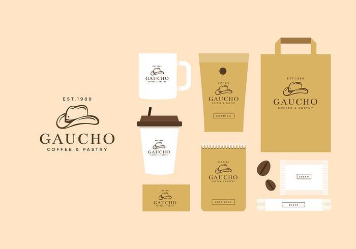 Gaucho Logo Mall Free Vector