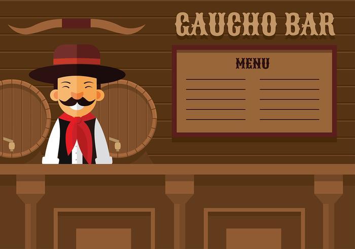 Bar Gaucho vector gratuito