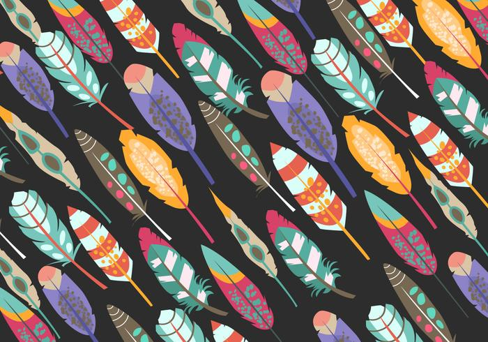 Pattern Of Boho Pluma