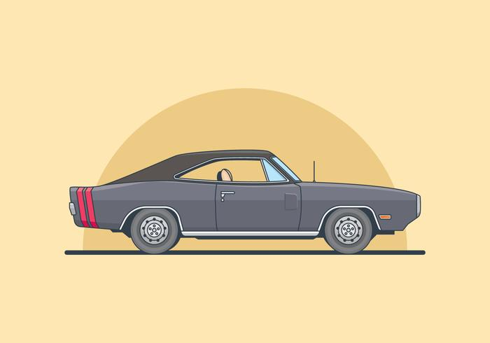 Dodge Charger Illustration