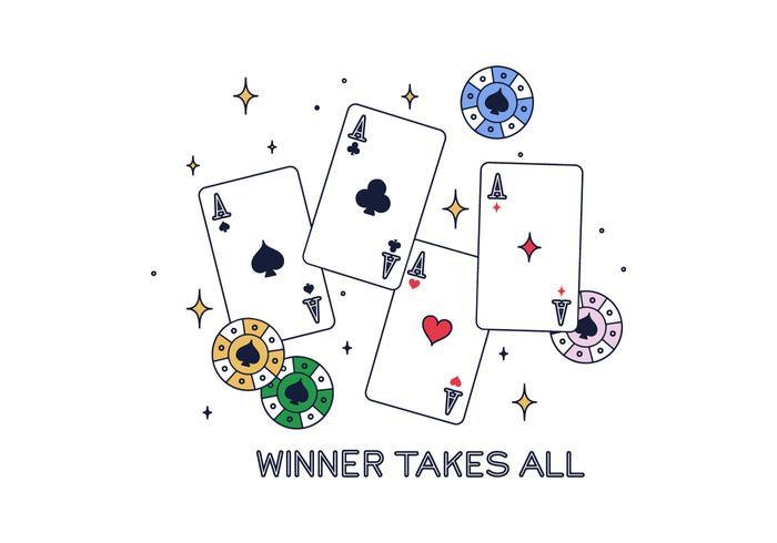 Vector libre de Poker
