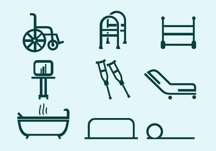Physiotherapist Tools free vector