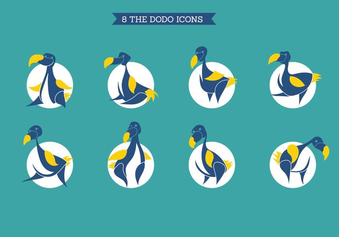The Dodo Icons Set