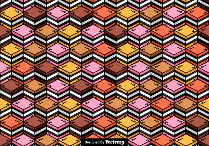 Licorice Candy Vector Seamless Pattern