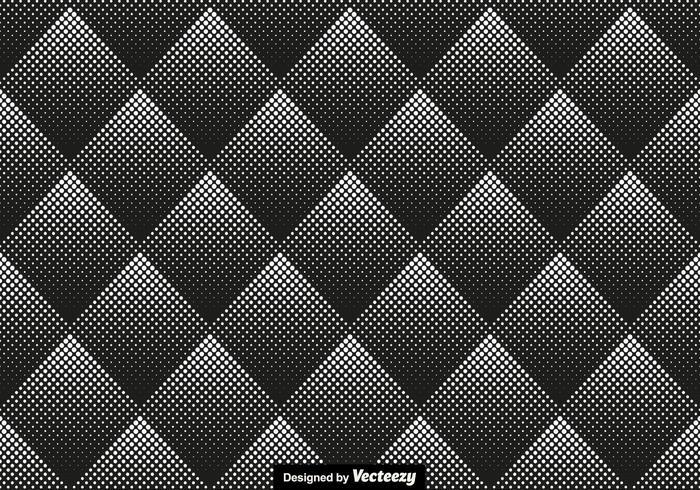 Halvton sömlös mönster vektor illustration