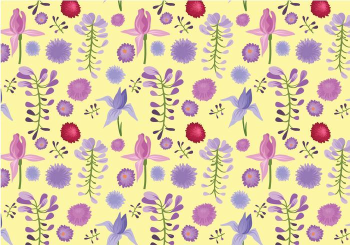 Free Garden Pattern Vectors