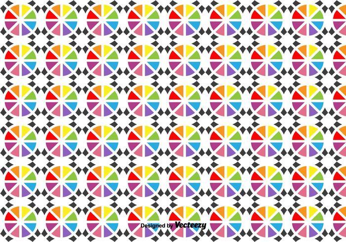 Vector Geometric Shapes Pattern